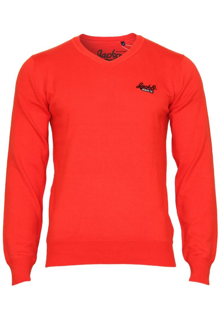 Jack-amp-Jones-Pullover-Barcelona-V-Neck-Gr-S-M-L-XL-XXL-4-Farben-NEU