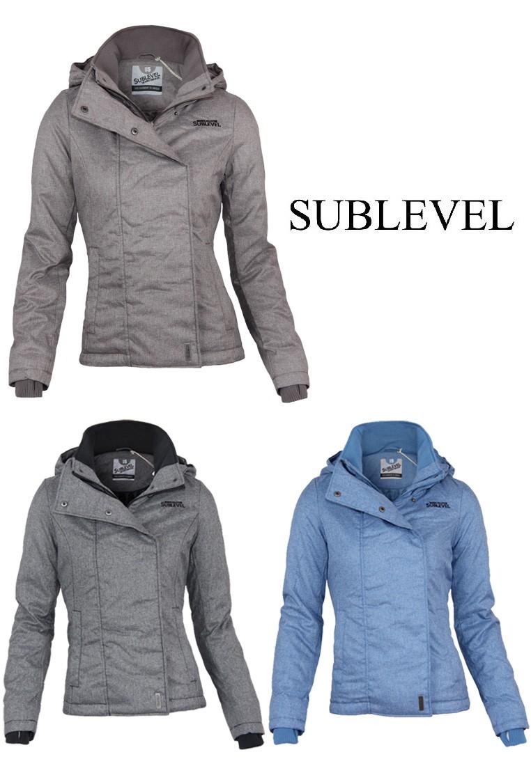 Sublevel Übergangs / Winter Jacke mit Daumenloch Gr. S, M, L,XL ...