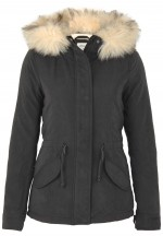 Only Damen Jacke Onllucca Short Parka