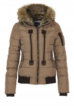 Sublevel Winter Stepp Jacke mit Kapuze