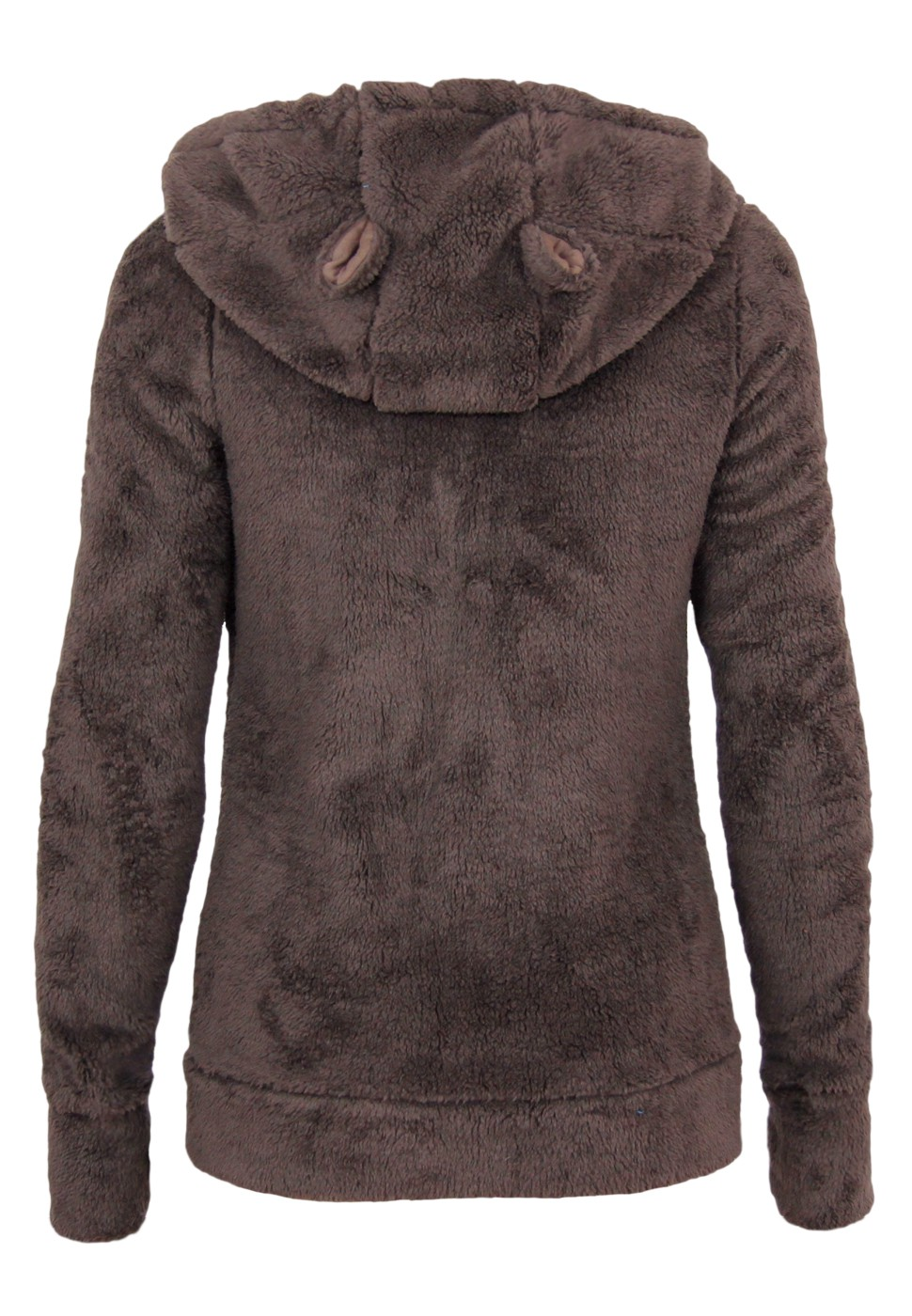 stitch soul teddy fleece jacke mit hrchen damen sweatshirts. Black Bedroom Furniture Sets. Home Design Ideas